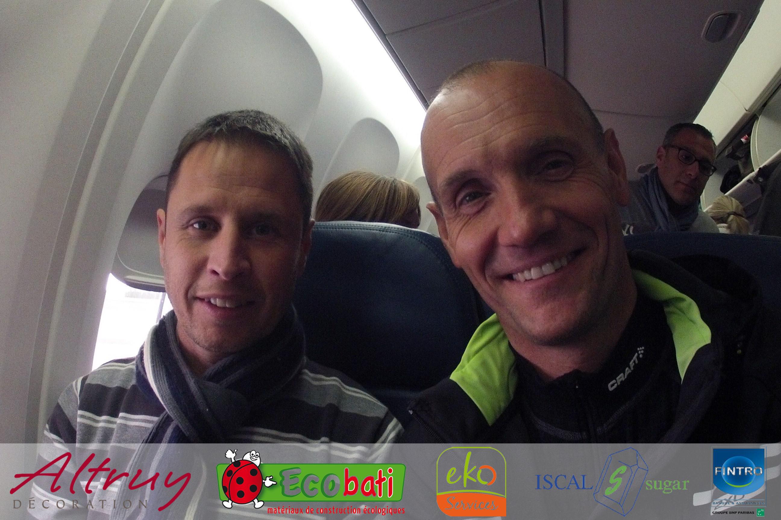 Coach running - C est interdit dans l avion ...